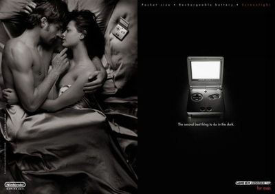 Gameboy Advance SP Reclame
