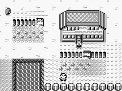 Gameboy Screenshot Pokemon Blue