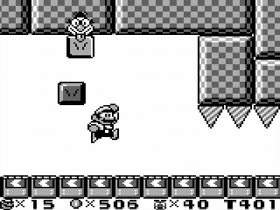 Gameboy Screenshot Super Mario Land 2