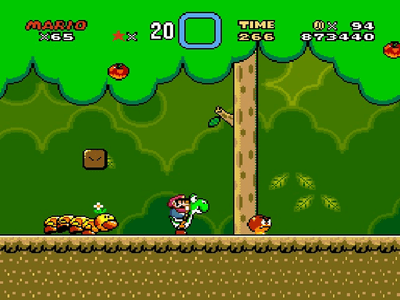 Super Nintendo SNES Screenshot Super Mario World