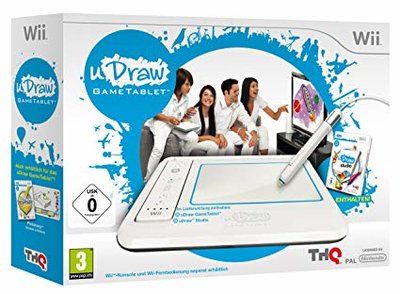 uDraw Game Tablet + Game Pack