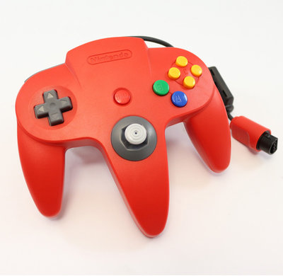 Originele Nintendo 64 Controller Red