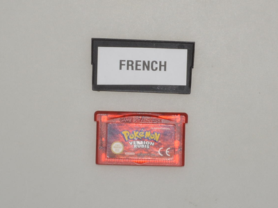 Pokemon Ruby (French) - Gameboy Advance - Outlet