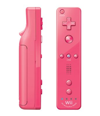Nintendo Wii Remote Controller Motion Plus Pink