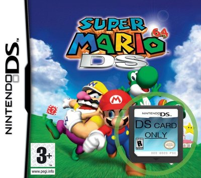 Super Mario 64 DS  -  losse cartridge