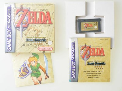 The Legend of Zelda A Link to the Past Four Swords