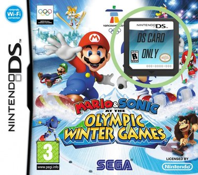 Mario & Sonic at the Olympic Winter Games - DS Cart Only