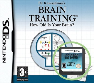 Dr Kawashima's Brain Training - How Old Is Your Brain - Cart Only