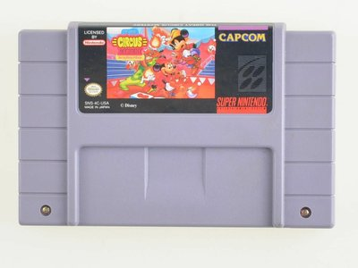 Great Circus Mystery Starring Mickey and Minnie - Super Nintendo - Outlet