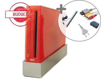 Nintendo Wii Console Red - Budget