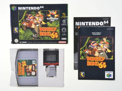 Donkey Kong 64 incl. Expansion Pack