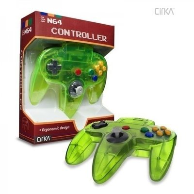 Nieuwe Nintendo 64 [N64] Controller Jungle Green