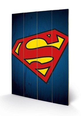 Superman [Wooden Art]