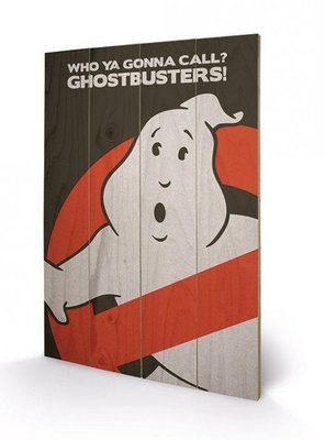 Ghostbusters [Wooden Art]