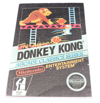 Donkey Kong Arcade Box Art Small [Wooden Art]