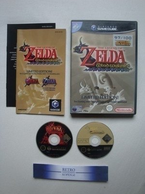 The Legend of Zelda The Windwaker Limited Edition