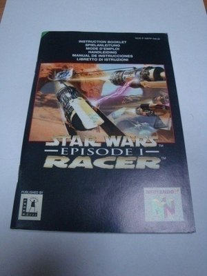Stars Wars Episode 1 Racer