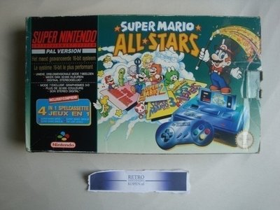 Super Nintendo [SNES] Mario All Stars Pack (9)