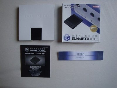 Nintendo Gamecube [NGC] Memory Card 251 Blocks (7)