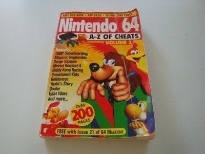 Nintendo 64 A-Z of Cheats Volume 2
