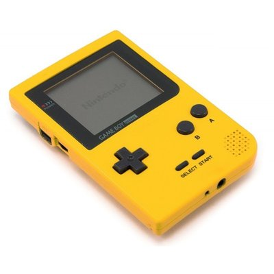 Gameboy Pocket Yellow