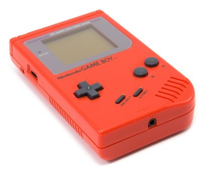 Gameboy Classic Red