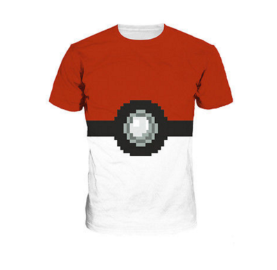 Pokemon Go - Pokebal Mannen Shirt