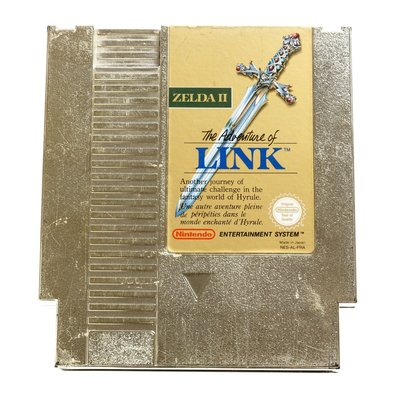 The Legend of Zelda II The Adventure of Link