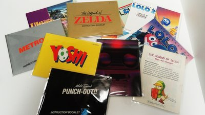 NES Manual Bag