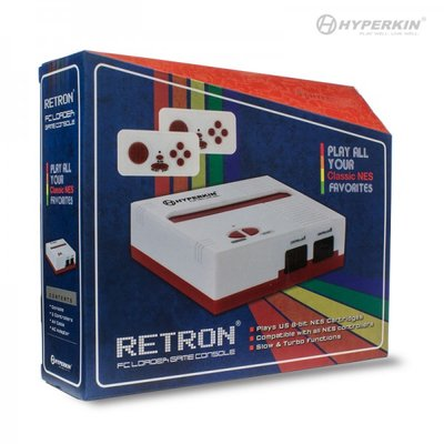 RetroN 1 NES Gaming Console Red