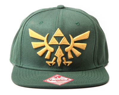 Zelda Triforce Snapback Pet