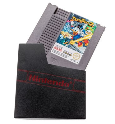 NES Dust Cover met Logo