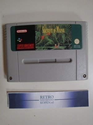 Secret of Mana (German Screentext)