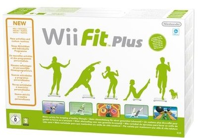 Wii Fit Plus Balance Board Pack