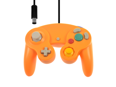 Nieuwe GameCube Controller Orange
