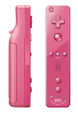 Original Wii Motion Plus Controller Pink