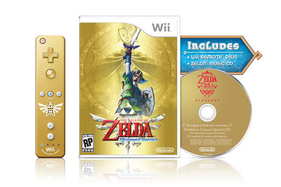Zelda Skyward Sword Limited + Controller + CD