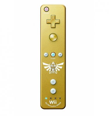 Wii Motion Plus Controller Zelda Edition