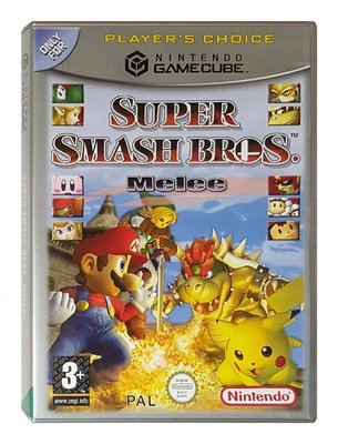 Super Smash Bros Melee (Player`s Choice)