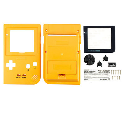 Gameboy Pocket Shell Yellow
