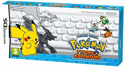 Learn With Pokémon Typing Adventure + Draadloos Toetsenbord