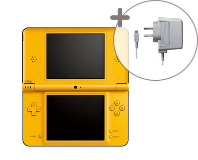 Nintendo DSi XL Yellow