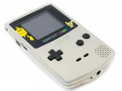 Gameboy Color Limited Pikachu Gold Edition