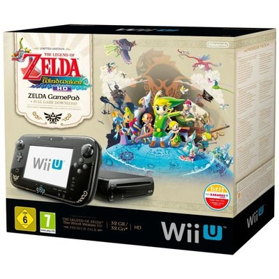 Wii U Zelda Windwaker HD Limited Edition Pack