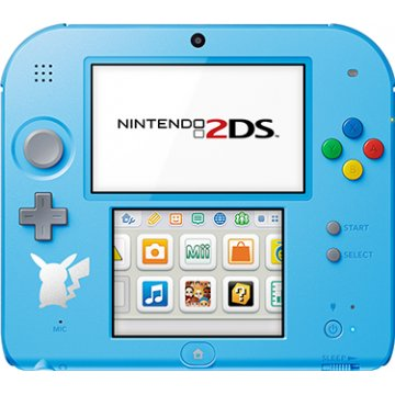 Nintendo 2DS Pokemon Sun Moon Edition - Light Blue