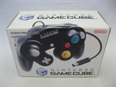 Originele Nintendo GameCube Controller Black - Boxed