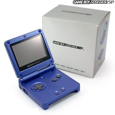 Game Boy Advance SP Blue (Boxed)