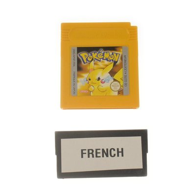 Pokemon Yellow (French) (Outlet)