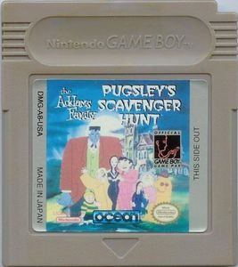 The Addams Family: Pugley's Scavenger Hunt