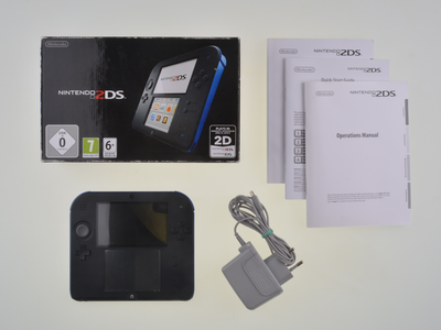 Nintendo 2DS Black-Blue [Complete]